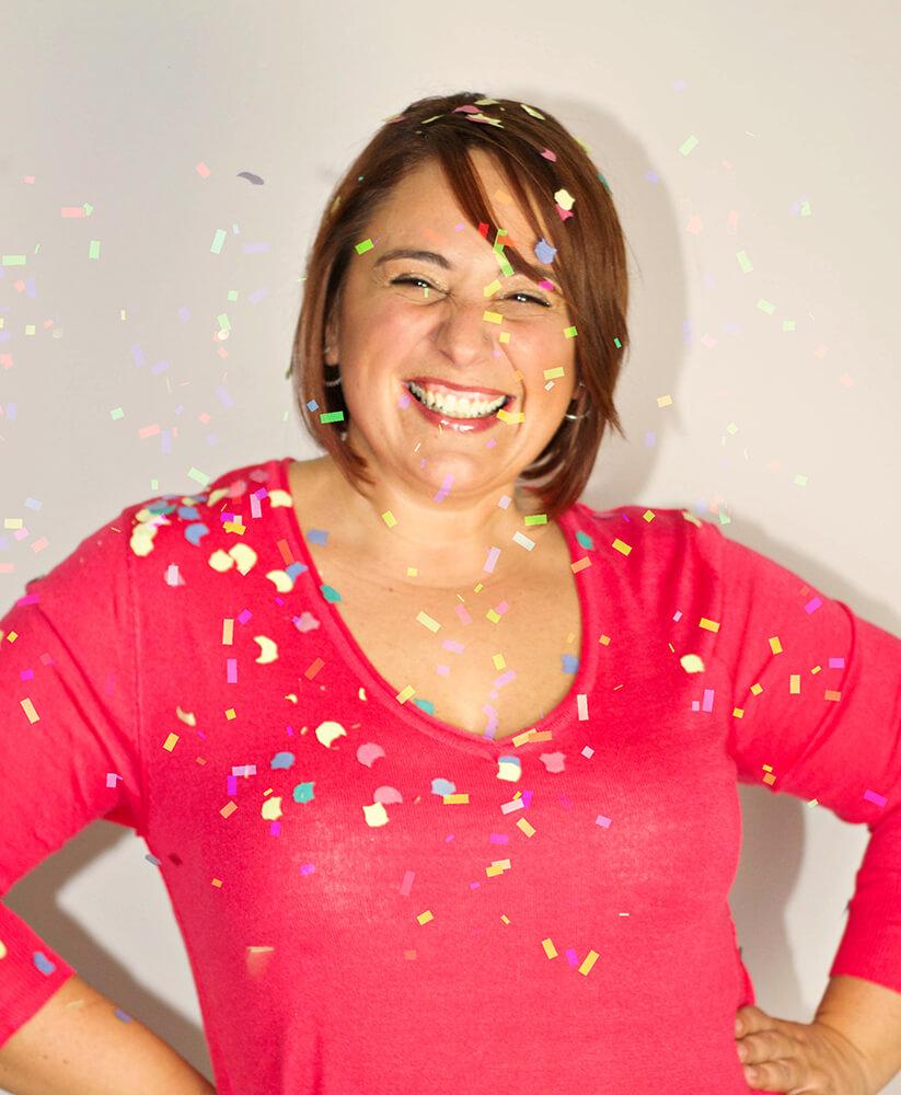 Isa sonriendo The Funny Mum